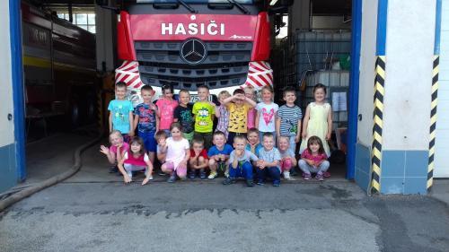 Návšteva hasičov