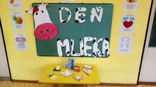 Deň mlieka na školách