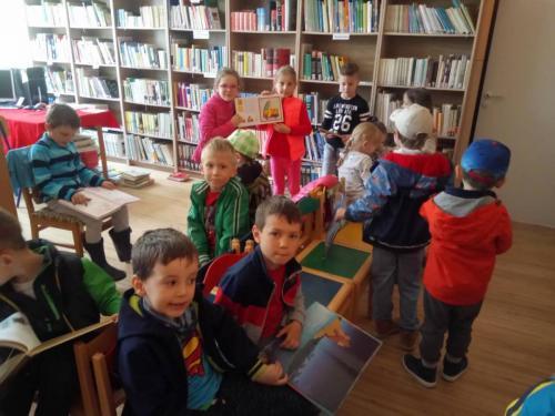 Návšteva knižnice v ZŠ